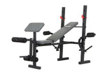 Body Champ BCB580 Weight Bench with Butterfly and Preacher Curl - body flex sports