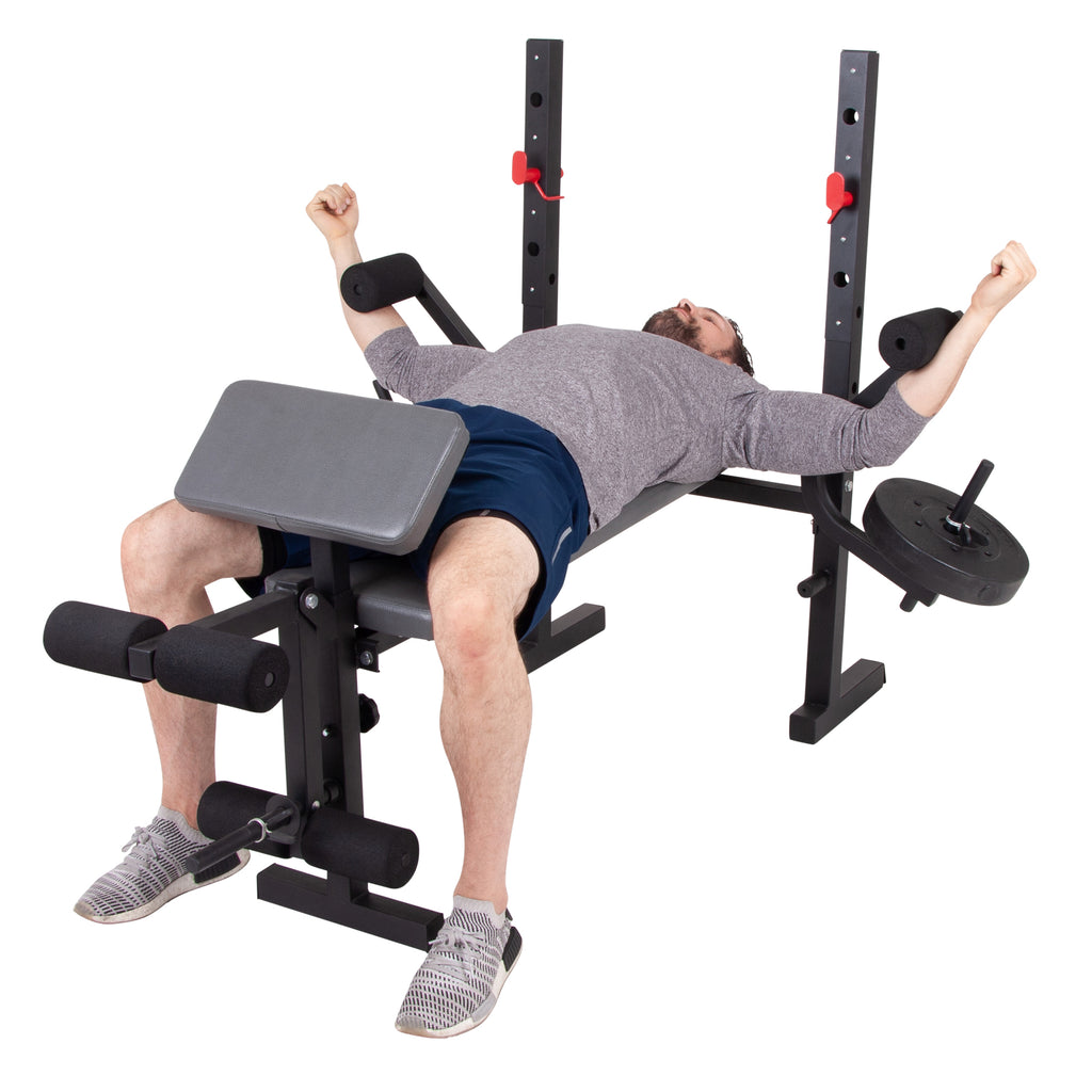 Body Champ Bcb580 Weight Bench With Butterfly And Preacher