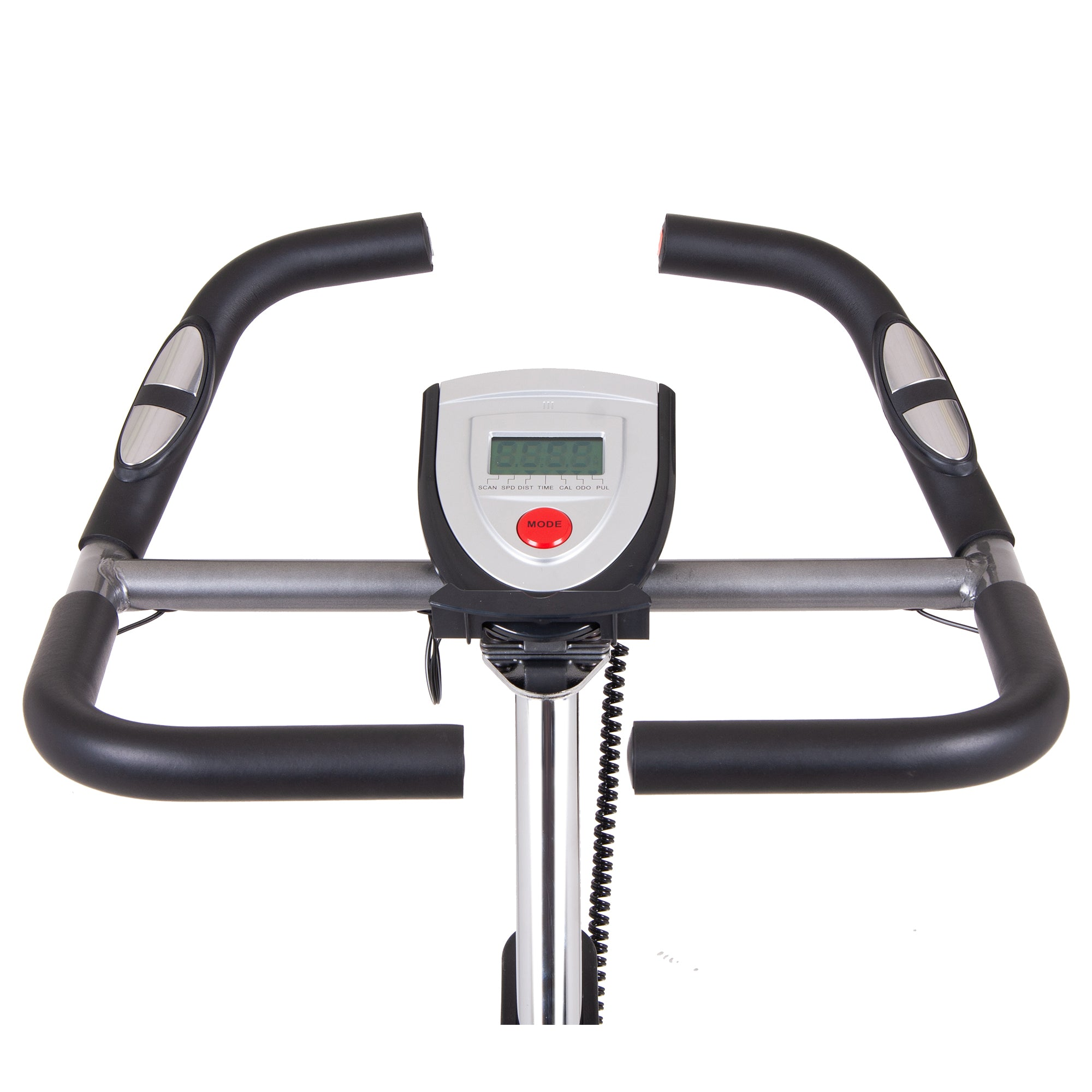 Body Rider Cycle Trainer with Rear Drive Flywheel and Curve-Crank - body flex sports