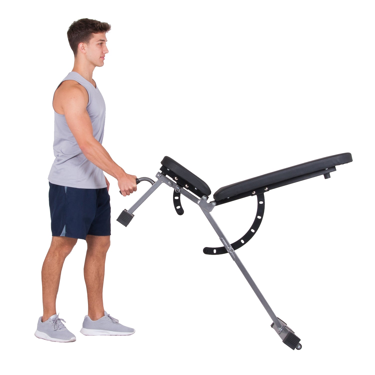 Body Power BUB350 Multi-Purpose Adjustable Fitness Weight Bench - body flex sports
