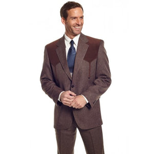 Circle S Men's Apparel - Heather Boise Sportcoat - Chestnut - RR Western Wear, Circle S Men's Apparel - Heather Boise Sportcoat - Chestnut