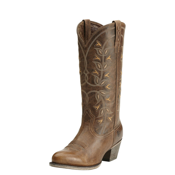 Ariat Womens Desert Holly Western Boot Pearl