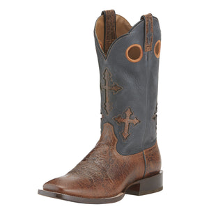 Ariat Mens Ranchero Western Boot Adobe Clay
