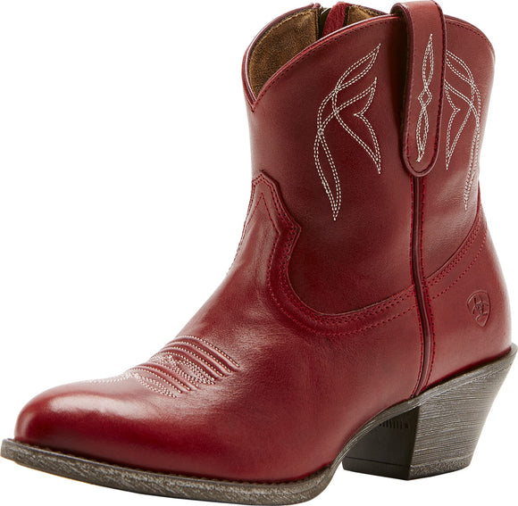 Ariat Womens Darlin Rosy Red Boot