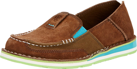Ariat Womens Cruiser Palm Brown Moc