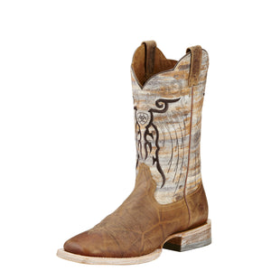 Ariat Mens Mesteno Western Boot Dust Devil Tan