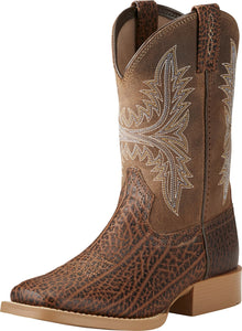Ariat Youth Cowhand Adobe Tan/Rustic Sand Western Boot