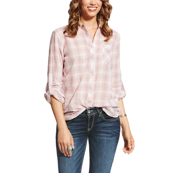 Ariat Womens Zoey Plaid Shirt Zoey Plaid