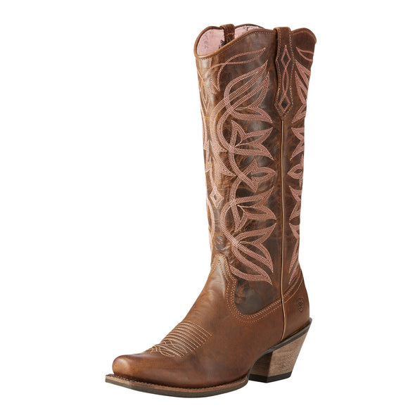 Ariat Womes Sheridan Western Boots Sassy Brown