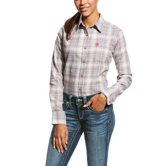 Ariat Womens Fr Jolene Work Shirt Multi