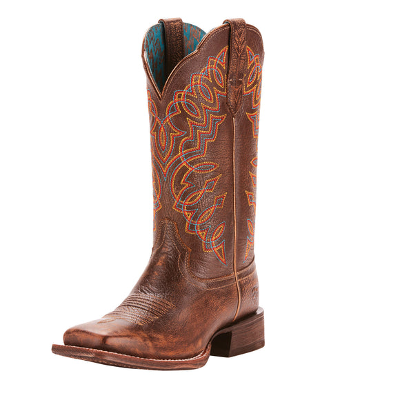 Ariat Womes Circuit Cisco Western Boots Kickin Cocoa