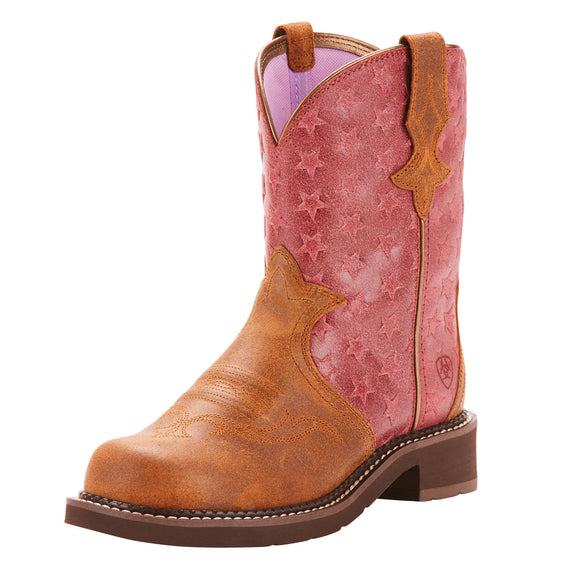 Ariat Womes Fatbaby Heritage Trio Vintage Ginger/Moody Star