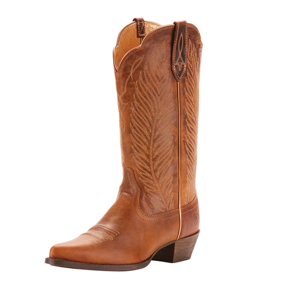 Ariat Womens Round Up Johanna Western Boot Pearl