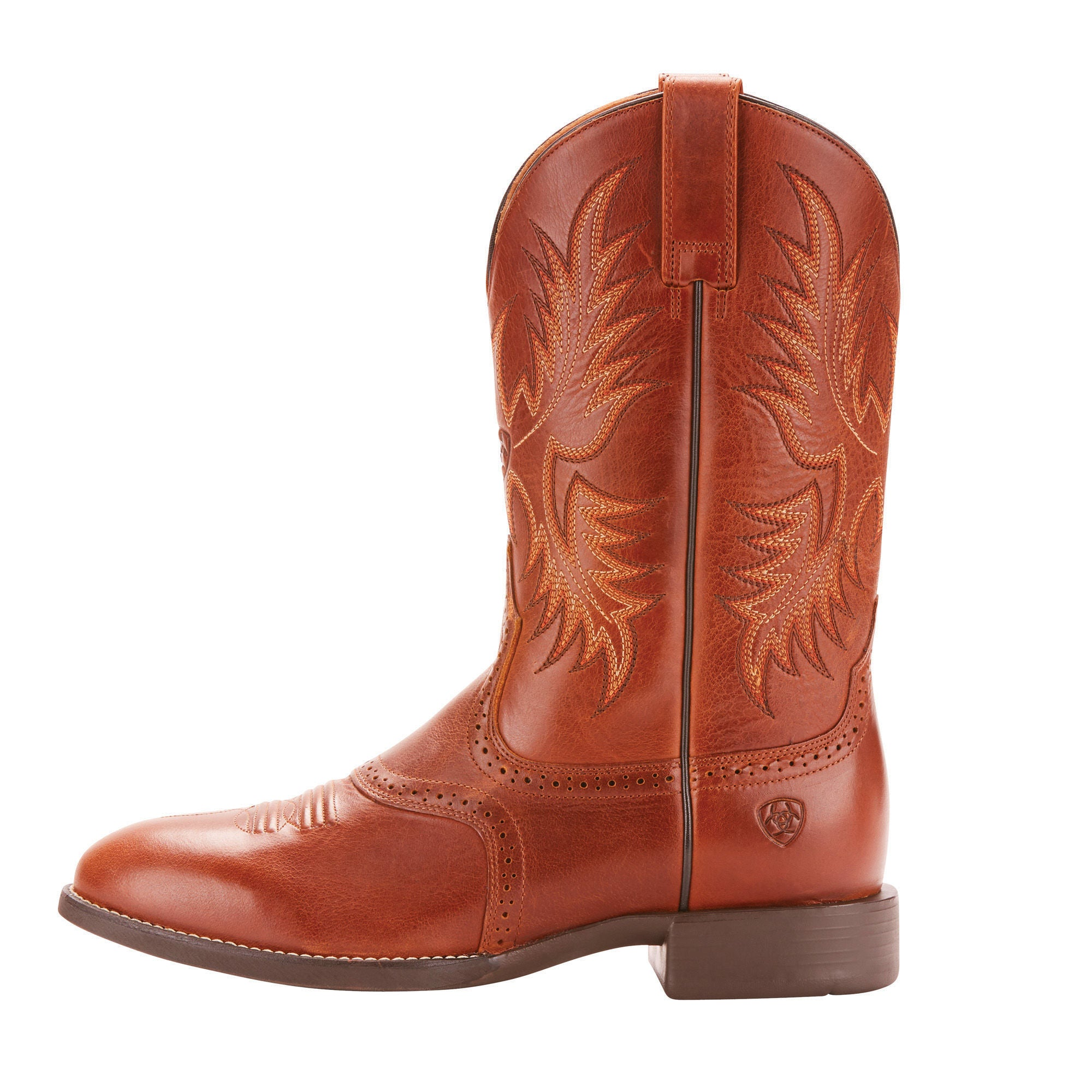 cedbe89123f Ariat Mens Heritage Stockman Western Boot Native Nutmeg – RR Western ...