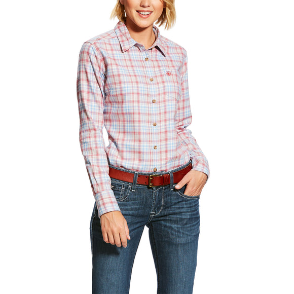 Ariat Womens Fr Ada Work Shirt Multi