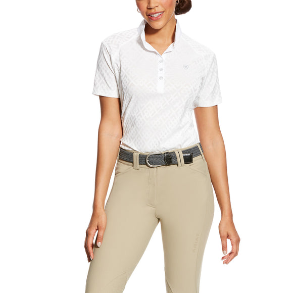 Ariat Womens Showstopper Show Shirt White