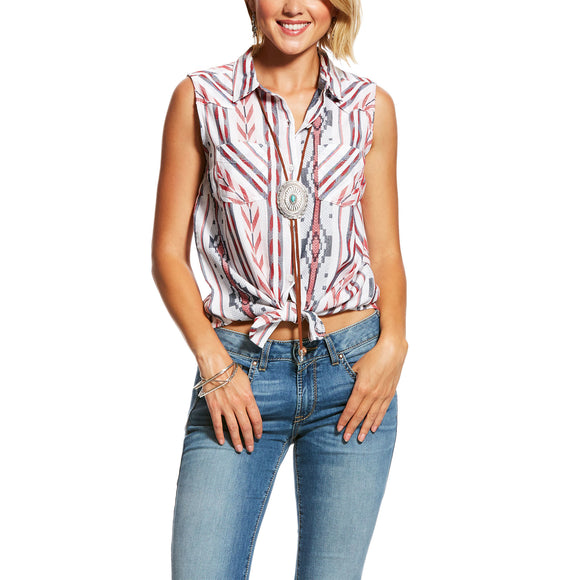 Ariat Womens Aztec Stripe Shirt Aztec Stripe