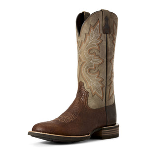 Ariat Mens Lockwood Western Boot Antique Buckskin