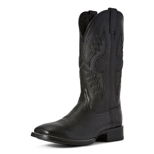 Ariat Mens Solado Venttek Western Boot Sorrel Crunch