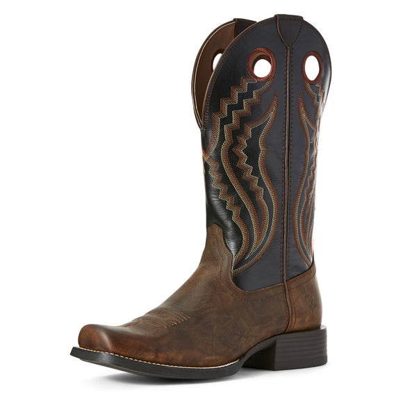 Ariat Mens Sport Picket Line Western Boot Sarsaparilla