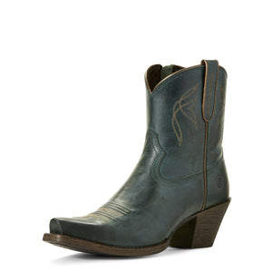 Ariat Womens Lovely Western Boot Blue Grass