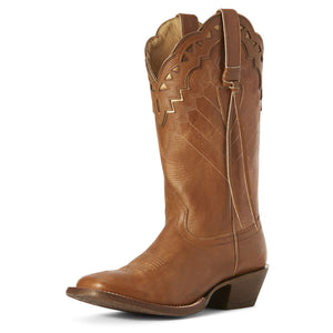 Ariat Womens Ember Western Boot Dusted Wheat