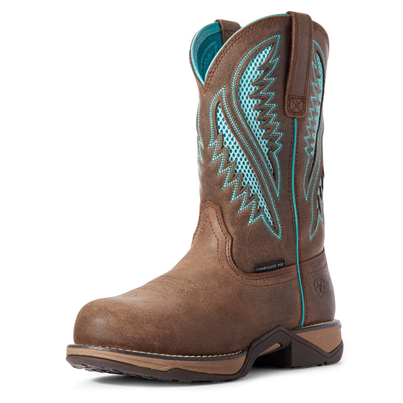 Women's Ariat Anthem VentTEK Round Toe Composite Toe Work Boot