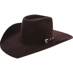 "American Hat Co 10X Chocolate 4-1/2"" Brim Open Crown Felt Cowboy Hat - RR Western Wear, American Hat Co 10X Chocolate 4-1/2"" Brim Open Crown Felt Cowboy Hat"