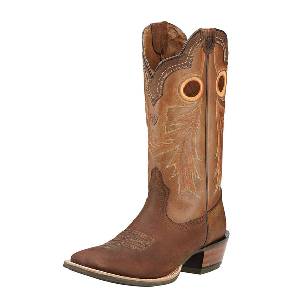Ariat Men's Wildstock Square Toe Boot - RR Western Wear, Ariat Men's Wildstock Square Toe Boot
