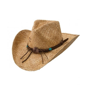 Charlie 1 Horse Tin Penny - Shapeable Straw Cowboy Hat - RR Western Wear, Charlie 1 Horse Tin Penny - Shapeable Straw Cowboy Hat