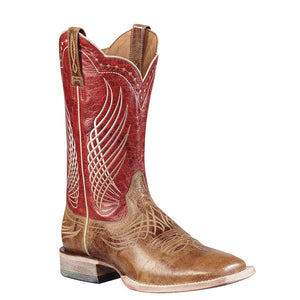 Ariat Men's Mecate Western Square Toe Boot WildHorse Tan - RR Western Wear, Ariat Men's Mecate Western Square Toe Boot WildHorse Tan