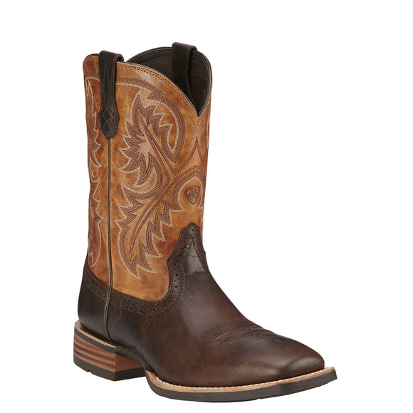 Ariat Men's Quickdraw Thunder Brown - RR Western Wear, Ariat Men's Quickdraw Thunder Brown