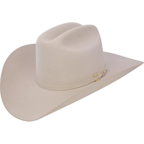 1000X Stetson Diamante Hat Made With Premium Chinchilla/Beaver - Silver Belly - RR Western Wear, 1000X Stetson Diamante Hat Made With Premium Chinchilla/Beaver - Silver Belly