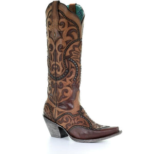 Women's Corral Western Boots Handcrafted - G1444
