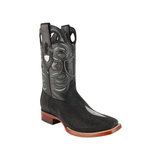 Men's Wild West Stingray Boots Square Toe Handcrafted - 28241205