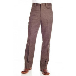 Circle S Men's Apparel - Heather Dress Ranch Pant - Chestnut - RR Western Wear, Circle S Men's Apparel - Heather Dress Ranch Pant - Chestnut