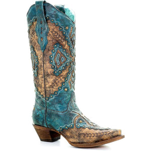 Women's Corral Western Boots Handcrafted - A3500