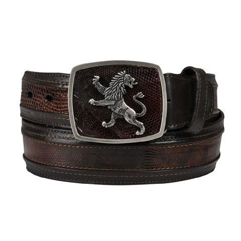 Cuadra Men's Lizard Belt - RR Western Wear, Cuadra Men's Lizard Belt