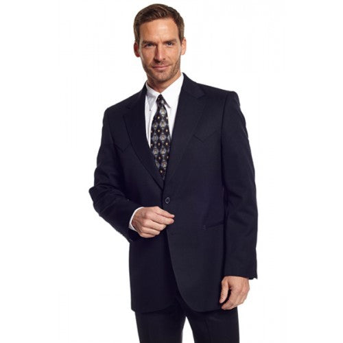 Circle S Men's Apparel - Abilene Sportcoat - Black - RR Western Wear, Circle S Men's Apparel - Abilene Sportcoat - Black