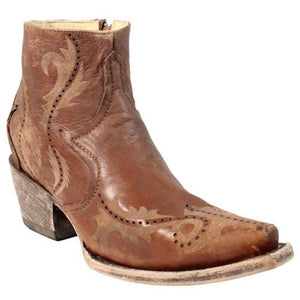 Women's Corral Ankle Boots Handcrafted - G1380