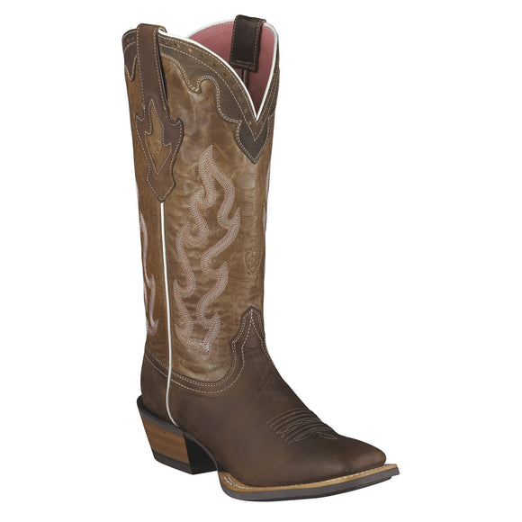 Ariat Women's Crossfire Caliente Square Toe Boot - RR Western Wear, Ariat Women's Crossfire Caliente Square Toe Boot