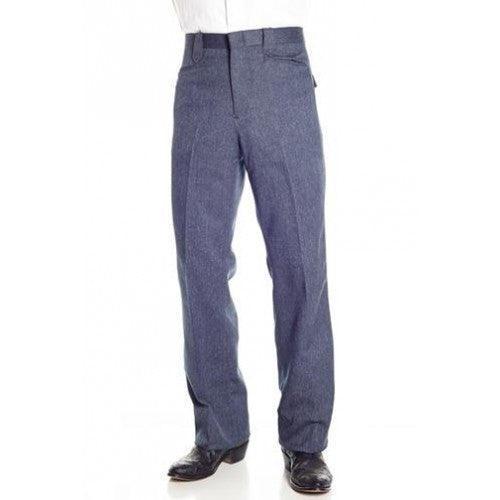 Circle S Men's Apparel - Heather Dress Ranch Pant - Navy - RR Western Wear, Circle S Men's Apparel - Heather Dress Ranch Pant - Navy