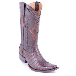 Cuadra Mens European Caiman Boot - Lumber Whisky - RR Western Wear, Cuadra Mens European Caiman Boot - Lumber Whisky