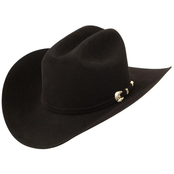1000x Larry Mahan Imperial Hat Genuine Mink Black - RR Western Wear, 1000x Larry Mahan Imperial Hat Genuine Mink Black