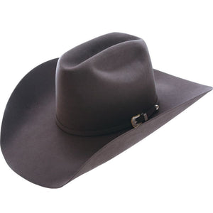 American 10X Steel Open Crown Felt Cowboy Hat - RR Western Wear, American 10X Steel Open Crown Felt Cowboy Hat