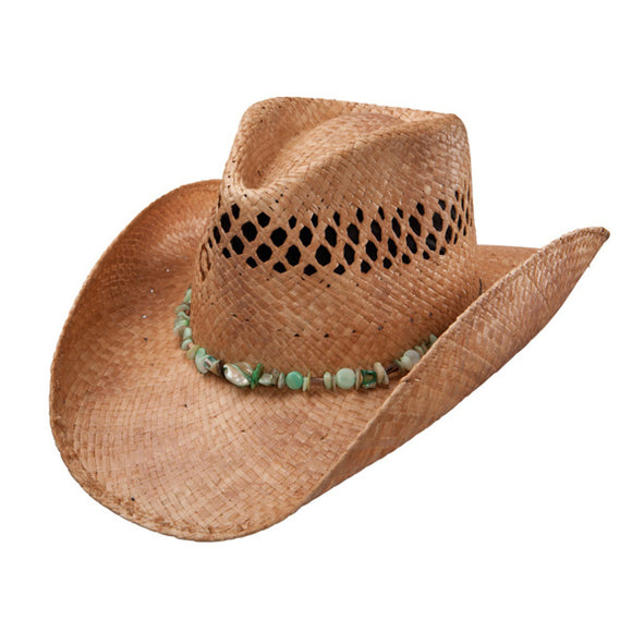Charlie 1 Horse Lagoon - Shapeable Straw Cowboy Hat - RR Western Wear, Charlie 1 Horse Lagoon - Shapeable Straw Cowboy Hat