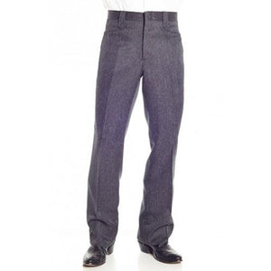 Circle S Men's Apparel - Heather Dress Ranch Pant - Charcoal - RR Western Wear, Circle S Men's Apparel - Heather Dress Ranch Pant - Charcoal