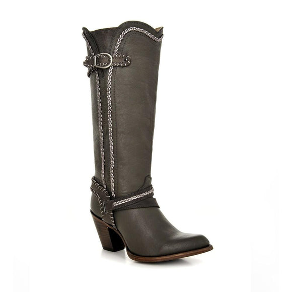 Cuadra Himalaya Women's Tall Grey Boot - RR Western Wear, Cuadra Himalaya Women's Tall Grey Boot