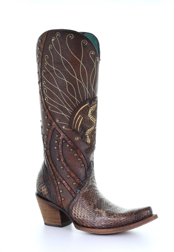 Women's Corral Western Boots Handcrafted - C3524