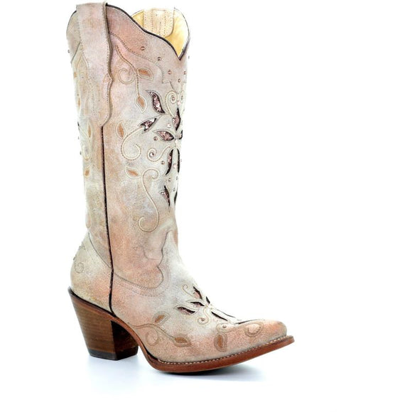 Women's Corral Western Boots Handcrafted - E1279